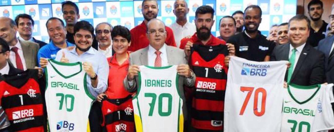 BRB assina patrocínio com time de basquete do Flamengo, rival do Brasília