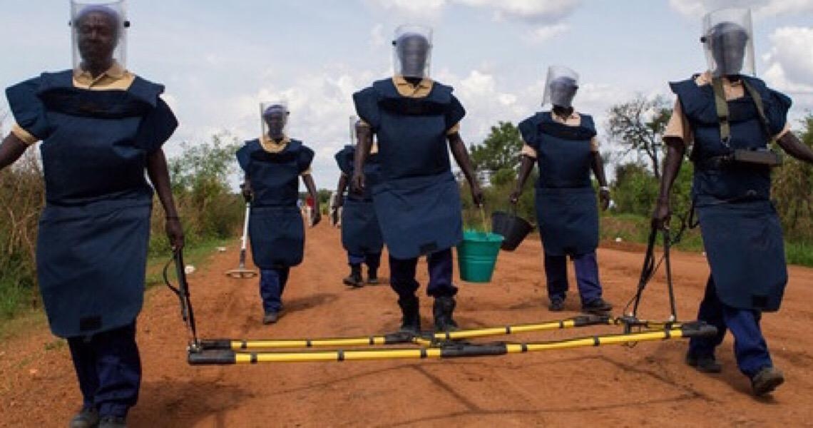 Em Dia Internacional, chefe da ONU lembra vítimas de minas terrestres
