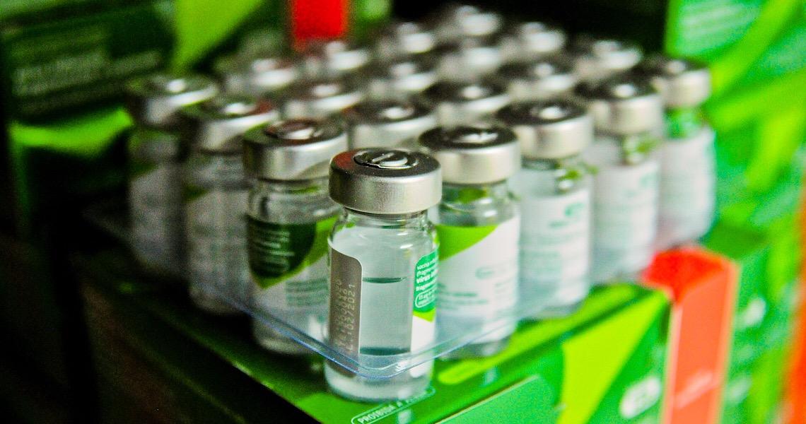 Secretaria da Saúde do DF recebe mais 82 mil doses da vacina contra a gripe