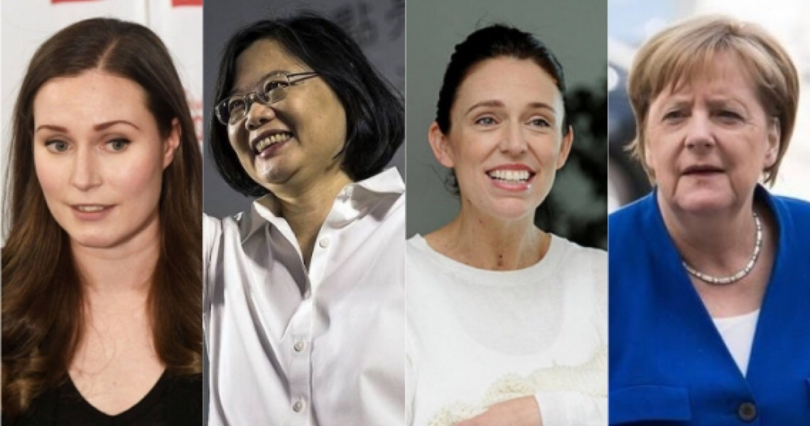 Governos liderados por mulheres viram exemplo de combate à pandemia