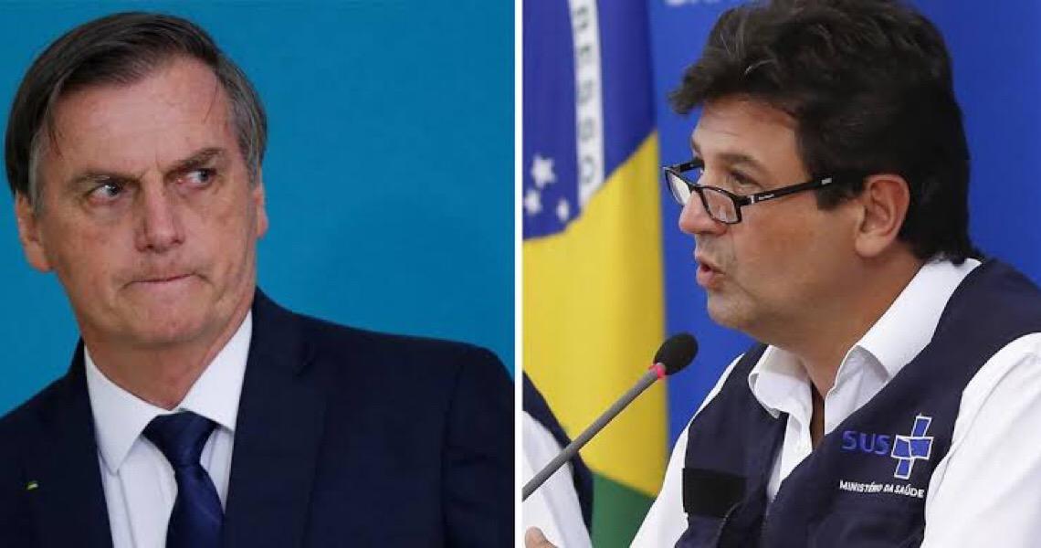 O mundo em luta contra um inimigo mortal, e Bolsonaro se preocupa com Mandetta