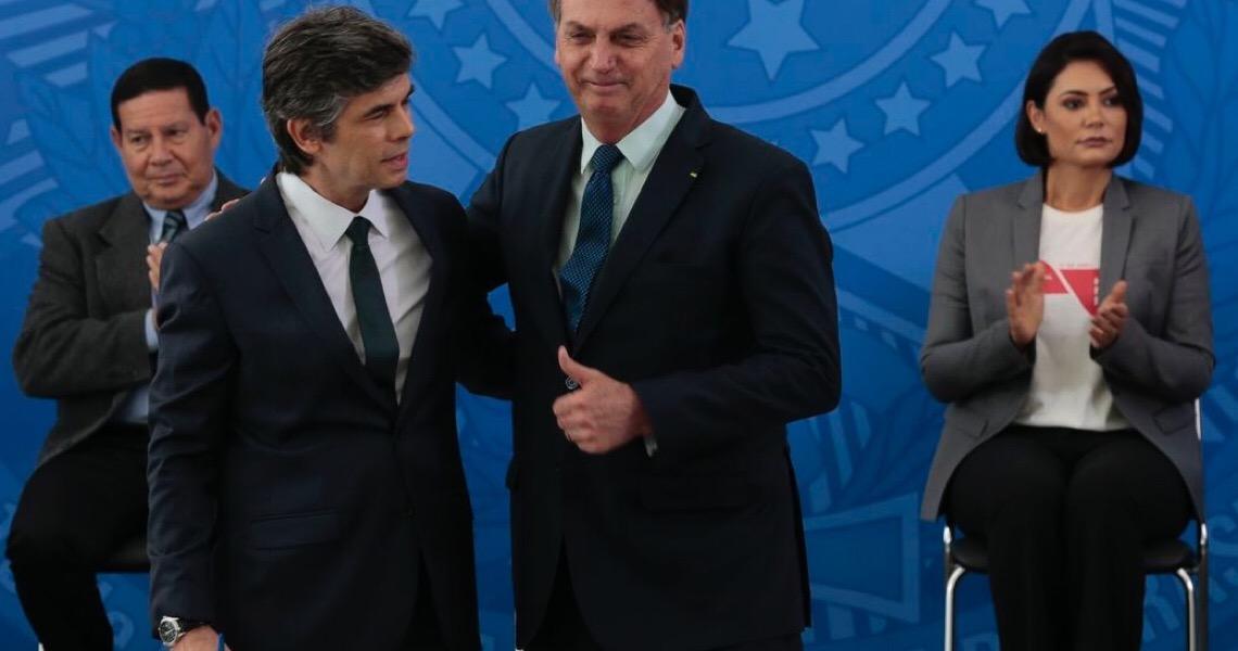 Presidente Bolsonaro está preocupado com corrupção na Saúde