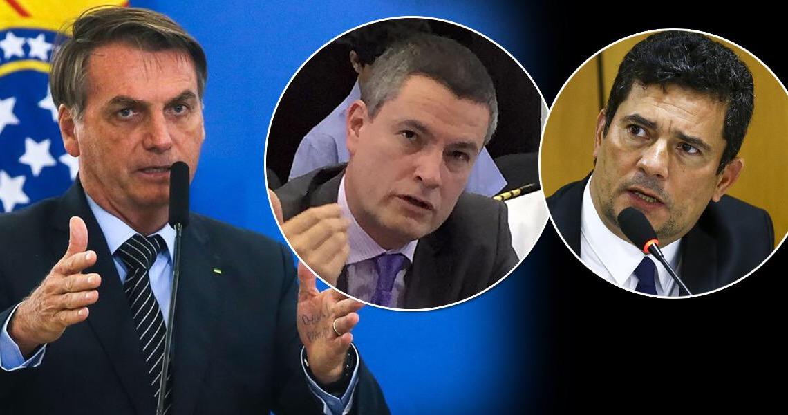 Bolsonaro exonera Valeixo do comando da PF e Moro pode anunciar ainda hoje a sua saída do governo