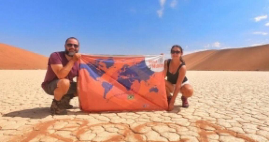 Por coronavírus, casal brasileiro é hostilizado na África e interrompe viagem pelo mundo