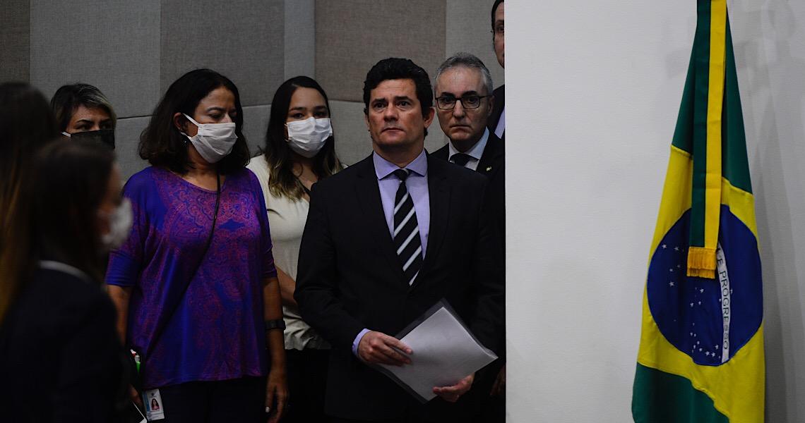 Sergio Moro é Sergio Moro porque combate o crime sem poupar ninguém