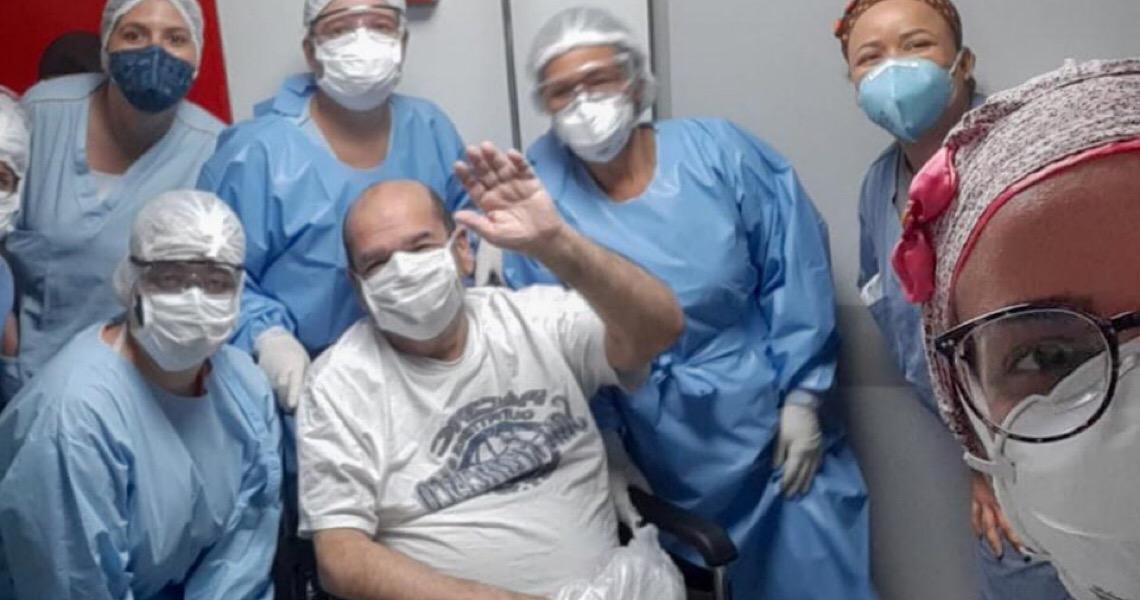 Cardíaco, hipertenso e diabético, morador do DF venceu a Covid-19