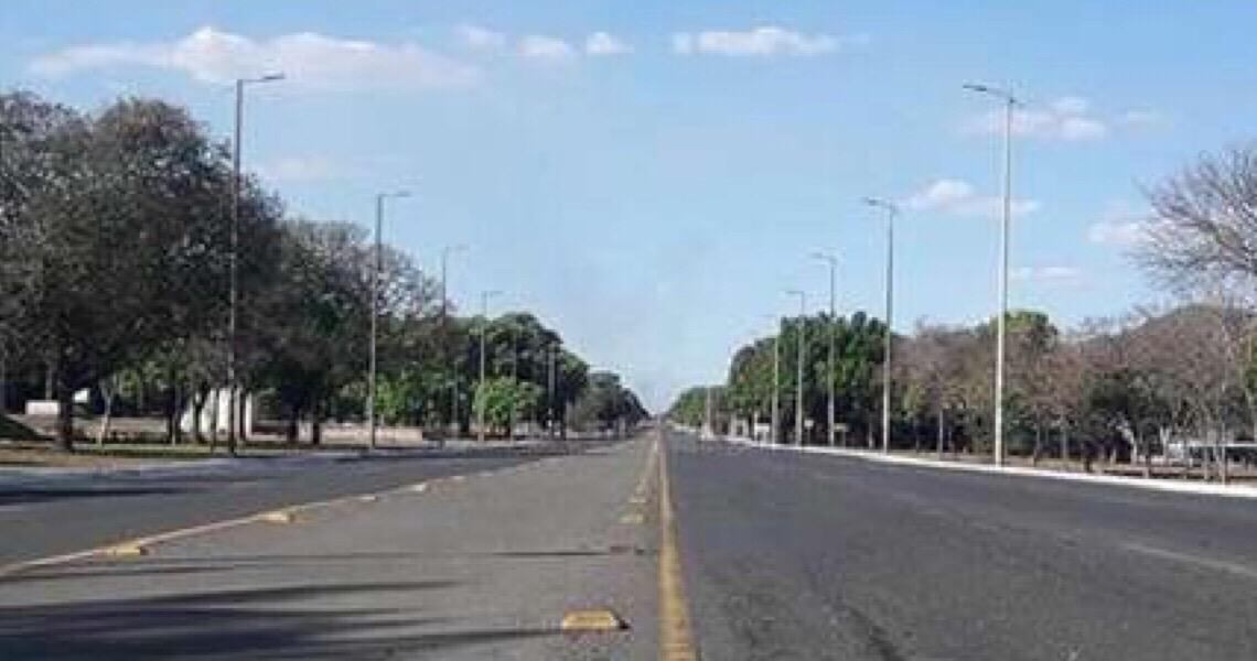 Brasília registra menor temperatura deste ano