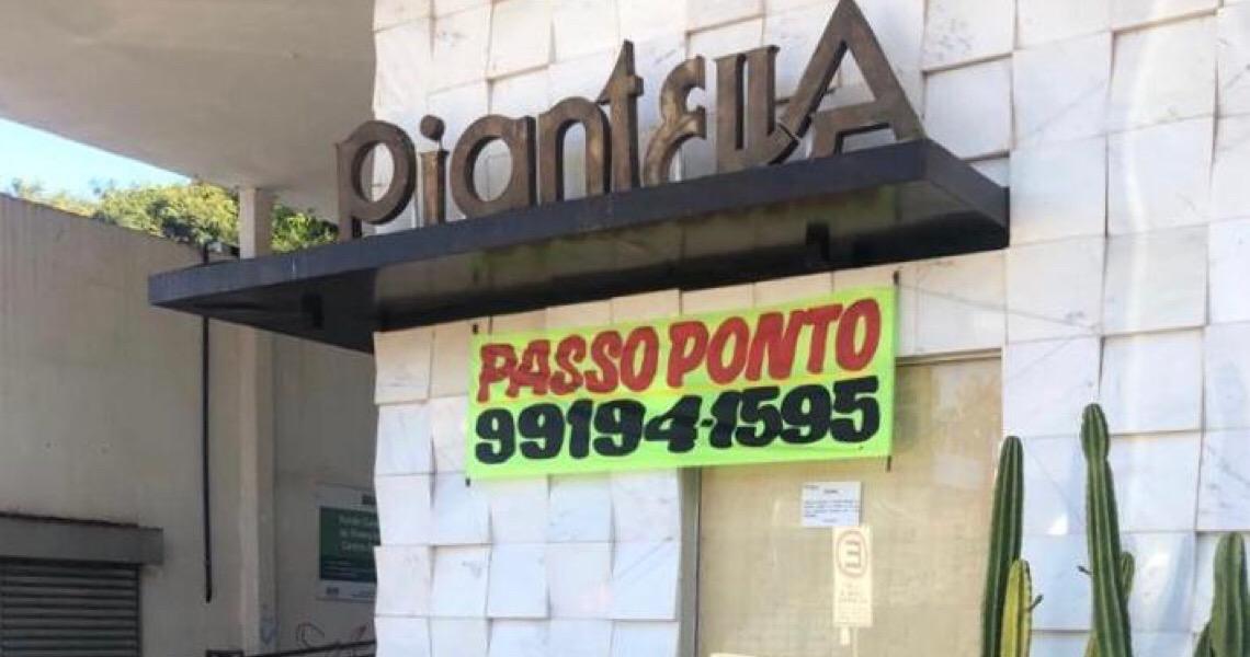 Símbolo em Brasília, Piantella fecha as portas