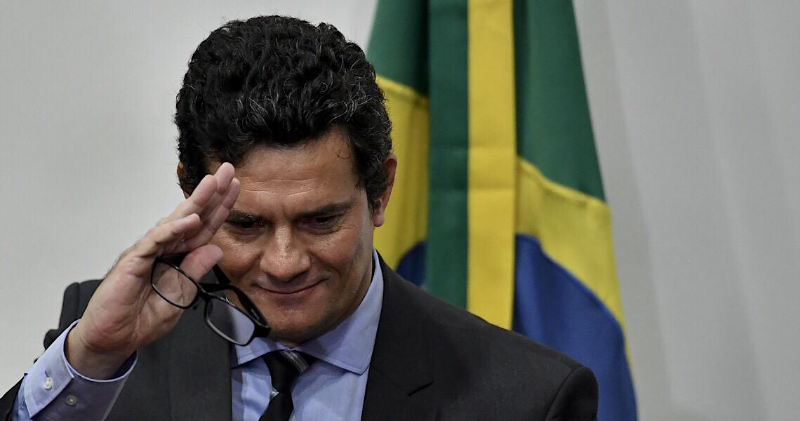 Ex-ministro Sergio Moro resistiu até o fim