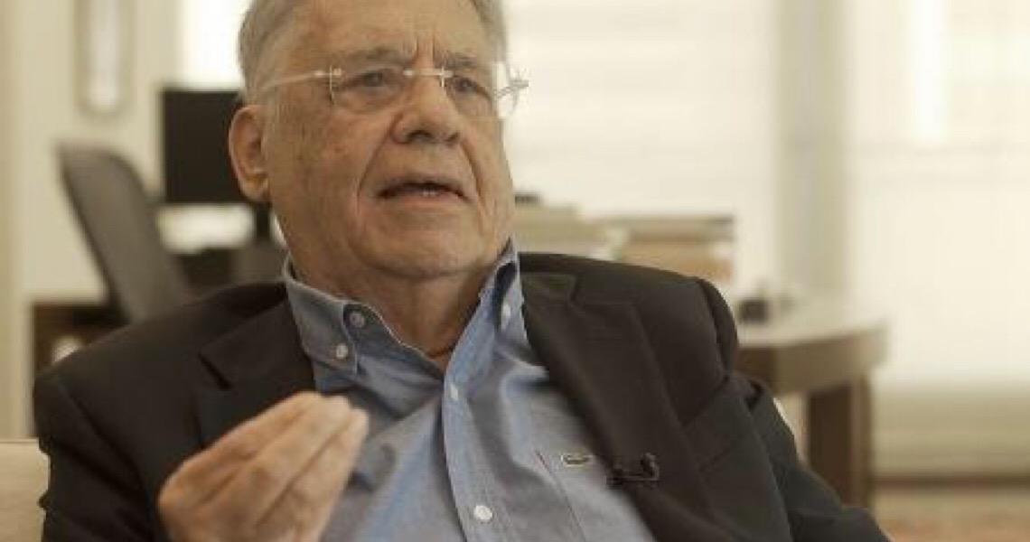 """""""Os choques entre poderes não ajudam a democracia"""", diz FHC após Bolsonaro criticar Moraes"""