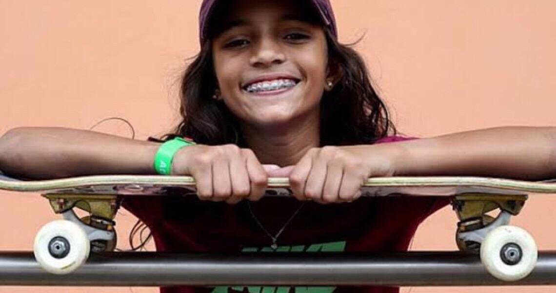 Aos 12 anos, Rayssa Leal se divide entre vida de criança e sonho olímpico
