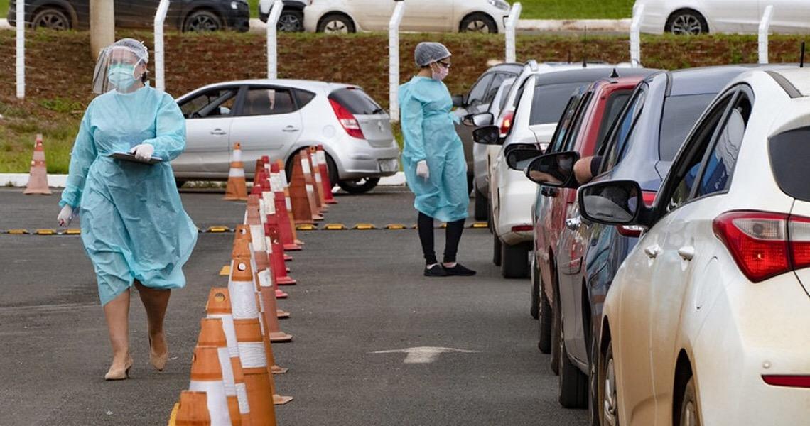 Gama e Planaltina ganham postos 'drive-thru' para testes de coronavírus; veja endereços