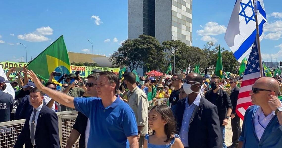 Imprensa internacional repercute participação de Bolsonaro em manifestação antidemocrática