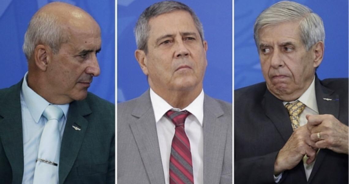 Celso de Mello autoriza depoimento de Augusto Heleno, Braga Netto e Eduardo Ramos