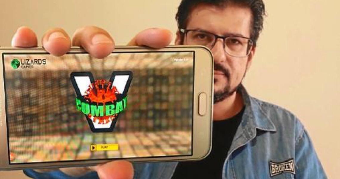 Virus Combat: Brasiliense cria game para evitar propagação da covid-19