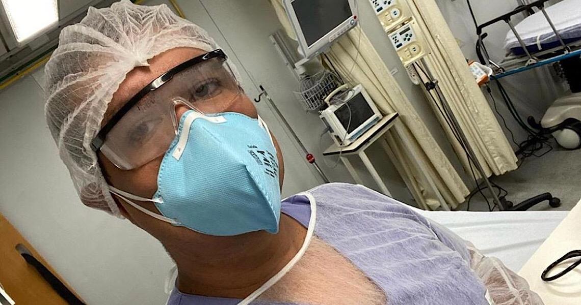 'Meus pacientes precisam de mim', disse médico internado por Covid-19 antes de morrer
