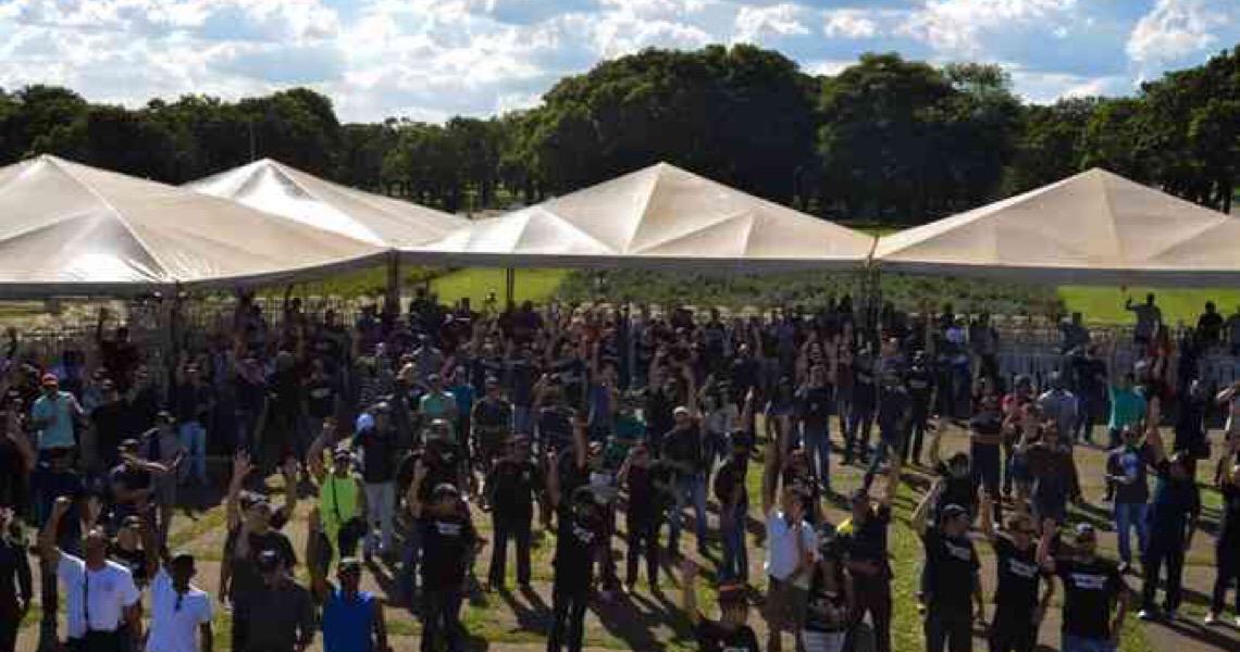 Reajuste das forças de segurança do DF agora está nas mãos de Bolsonaro