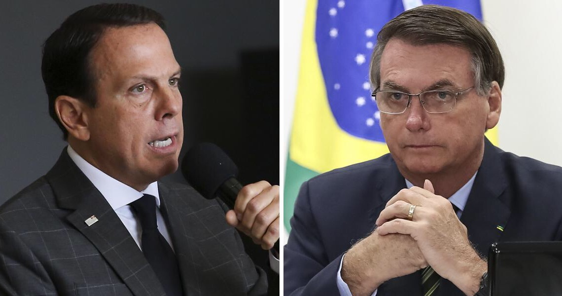 Bolsonaro convoca empresários a 'jogar pesado' contra Doria para evitar lockdown