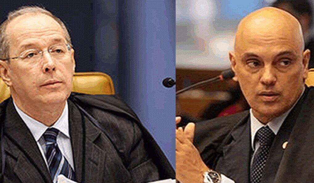 Com inquéritos-chave, Moraes e Celso de Mello viram inimigos pessoais para Bolsonaro