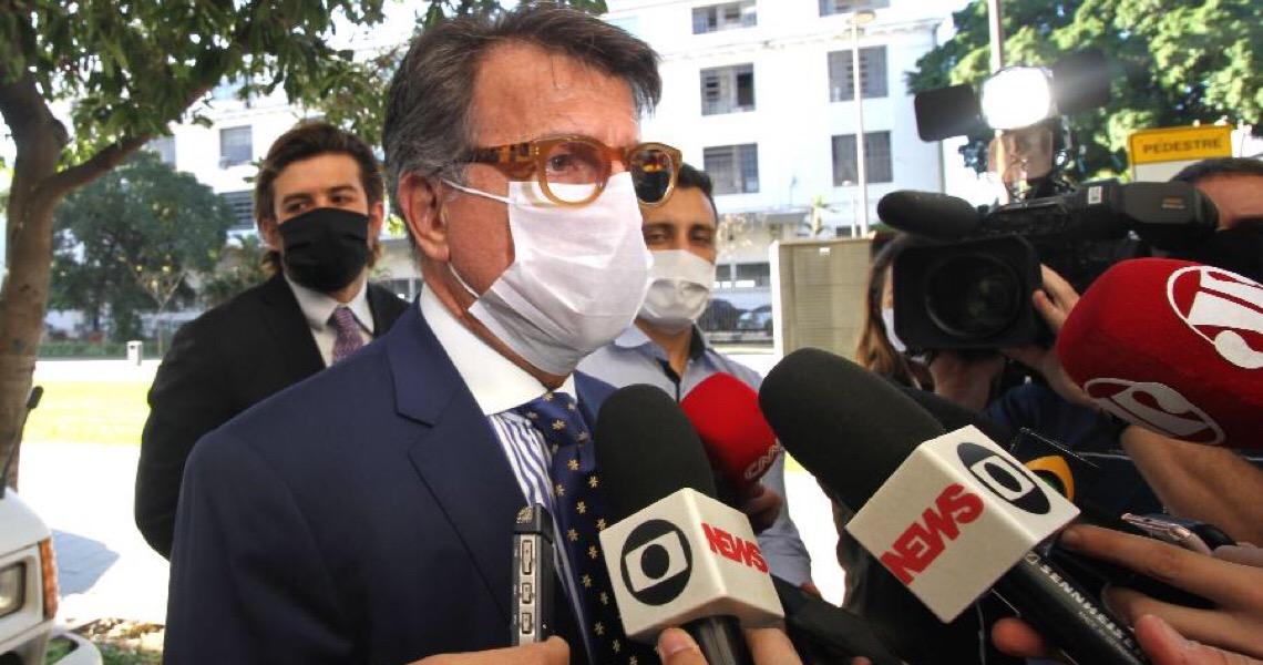 Marinho diz que Bebianno e demissão de Moro o motivaram a acusar Flávio