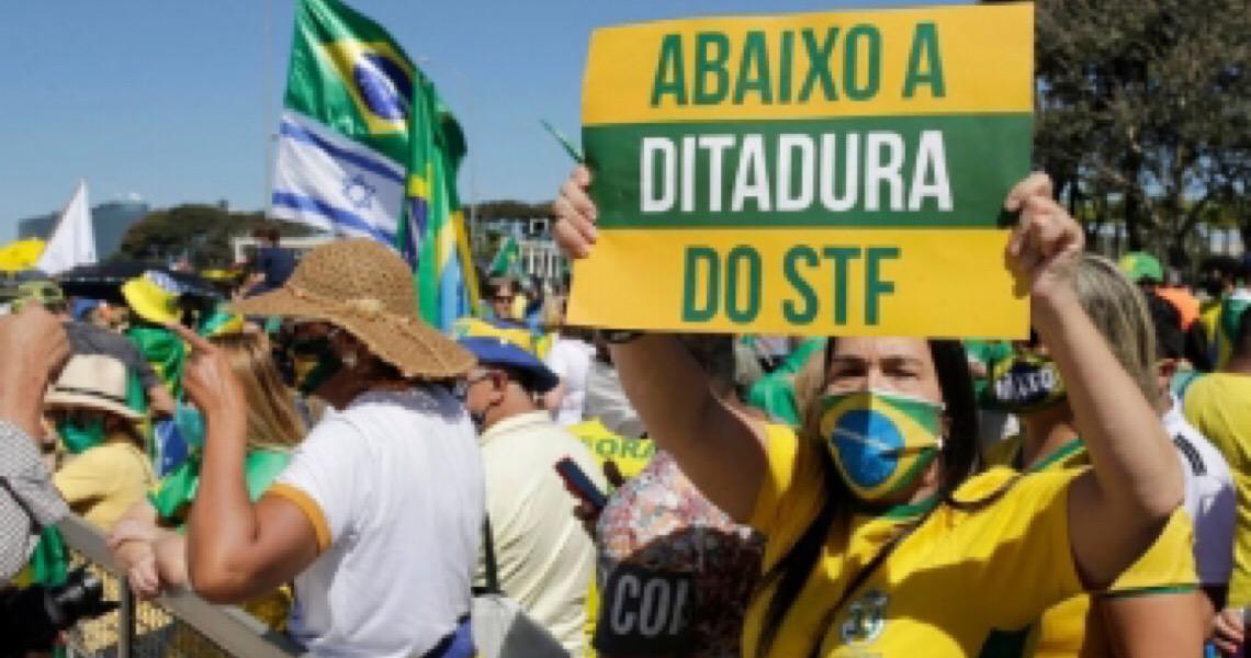 Risco de confronto entre manifestantes em Brasília leva a reforço de segurança