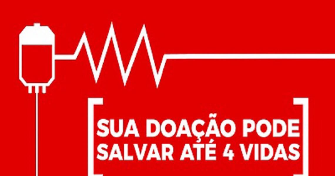 Campanha incentiva doação de sangue durante pandemia