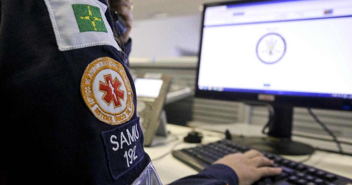 Samu recebe mais de 321 mil ligações em cinco meses