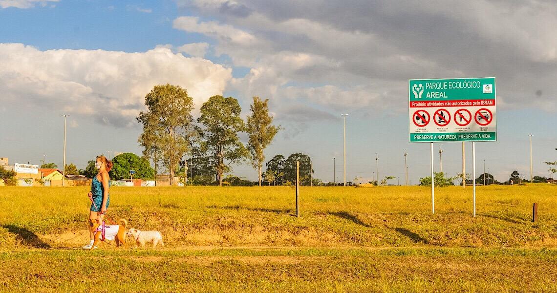 População pode definir regras para o Parque Ecológico do Areal
