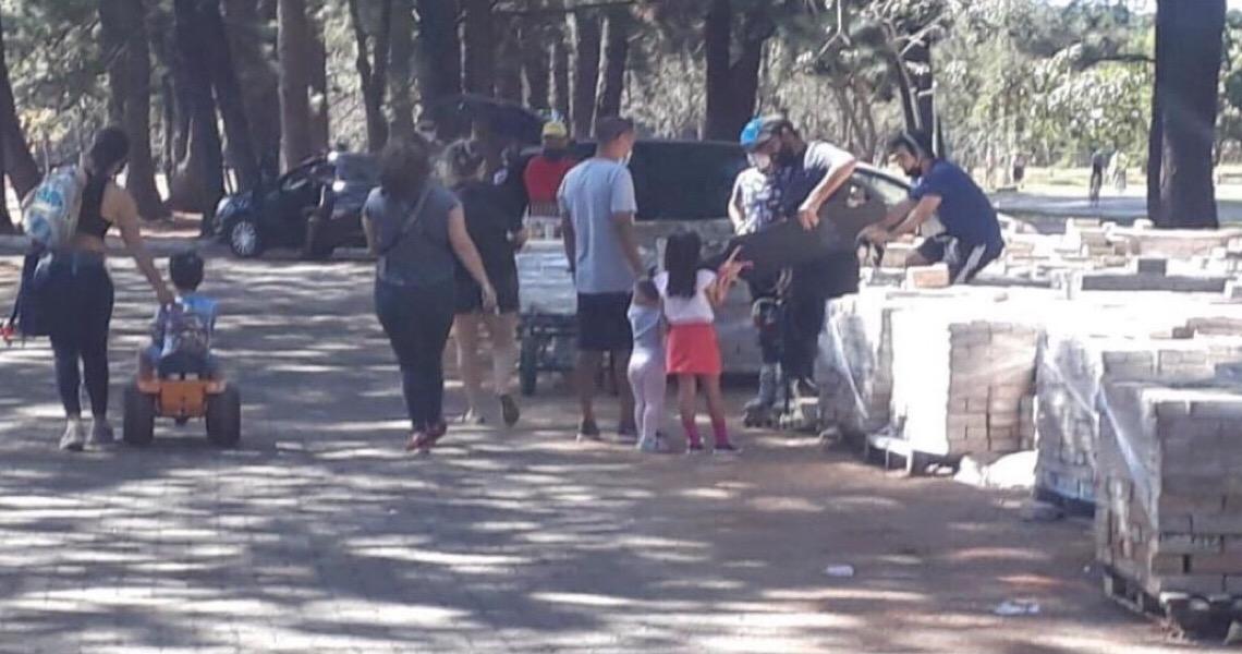 MP do DF constata retrocesso no uso de EPIs após nova vistoria em parques e shoppings