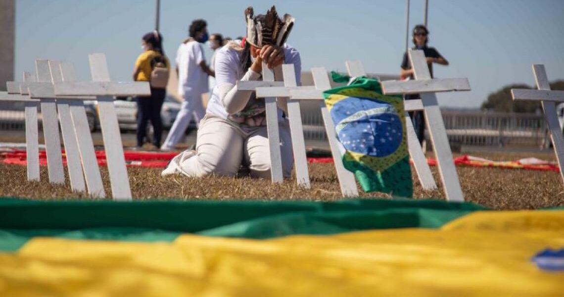 Ato pede impeachment do presidente Jair Bolsonaro