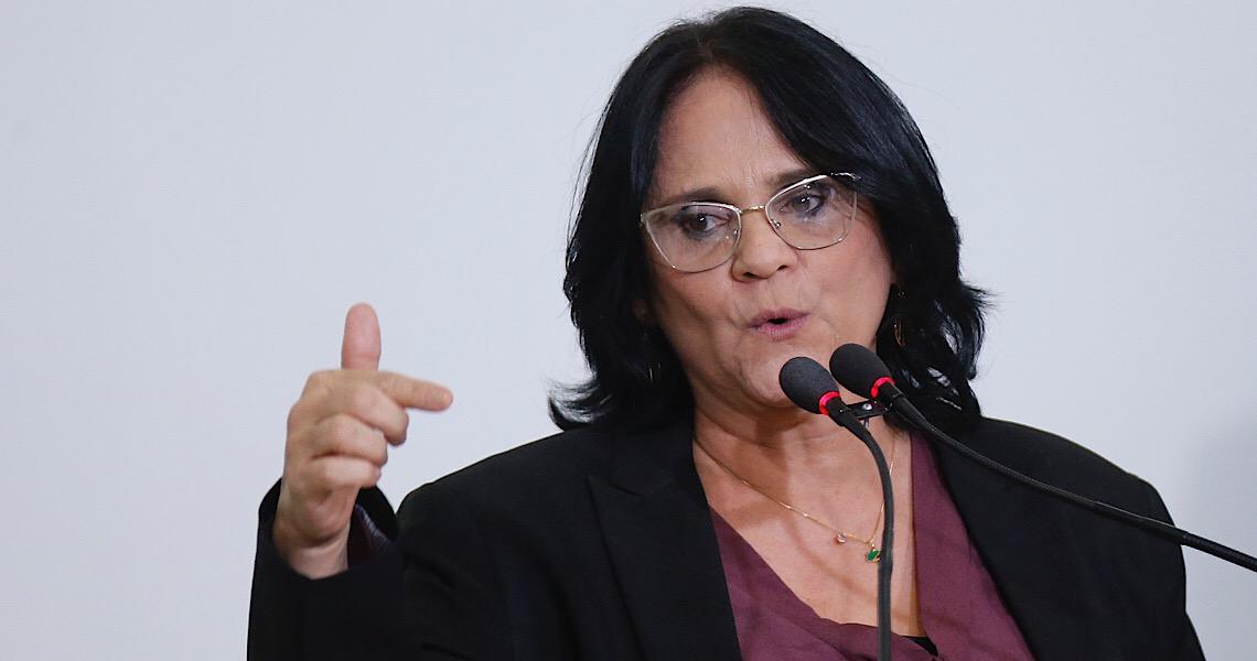 STF envia à PGR acusação contra Damares por fala sobre prender governadores