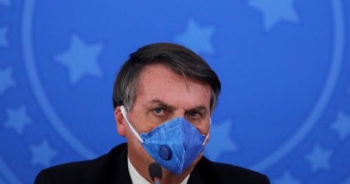 'Demos azar com essa pandemia', diz Bolsonaro