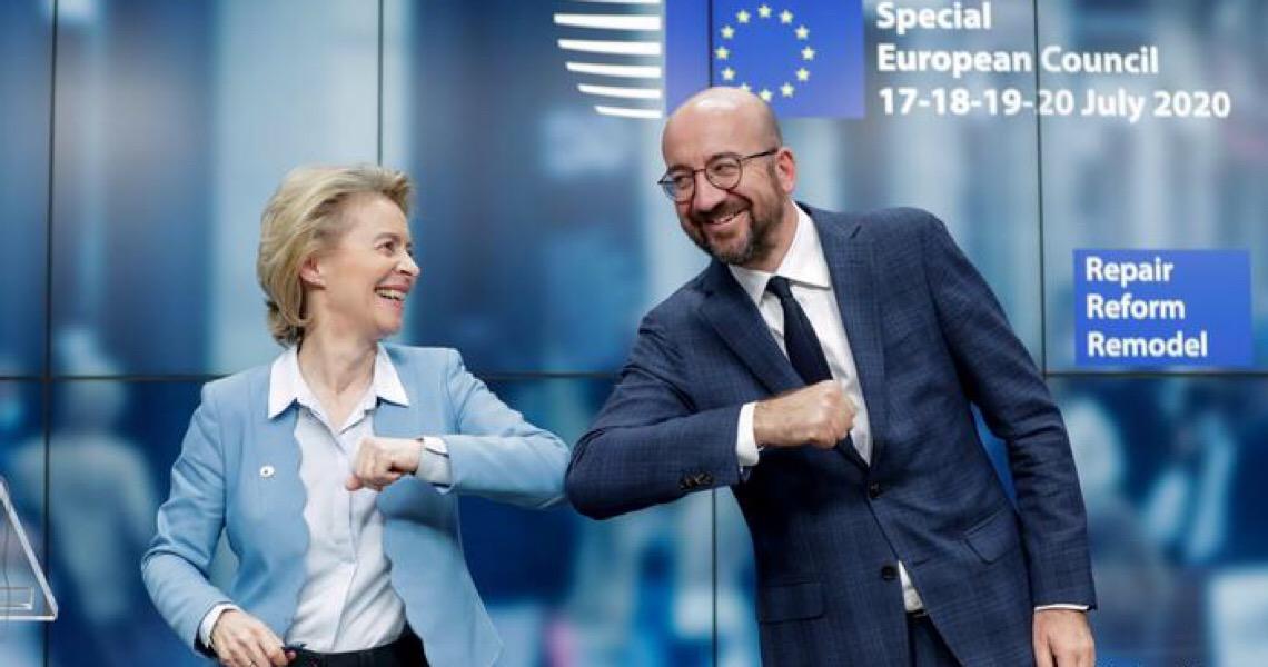 Líderes da UE chegam a acordo sobre pacote de recuperação pós-pandemia
