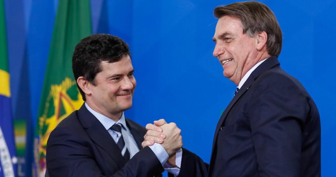 A aliados, Bolsonaro diz que não só sobreviveu à queda de Moro, como se livrou de um estorvo