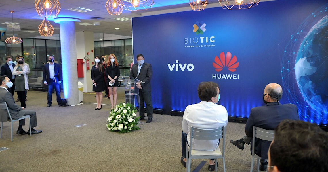 Biotic: Conheça a tecnologia do futuro. Laboratório 5G deve ser aberto para visitação em breve