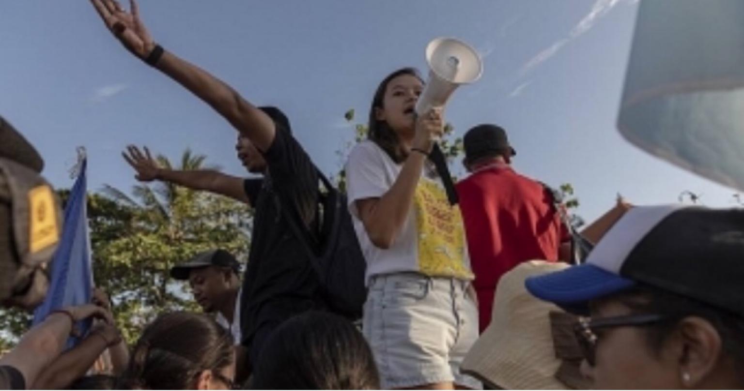 Depois de lutarem contra o lixo plástico, irmãs encaram o aquecimento global