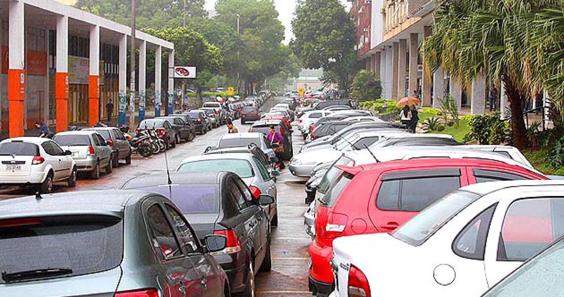 População contribui com ideias sobre estacionamentos rotativos no Distrito Federal
