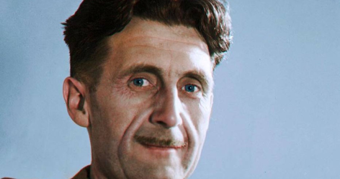 Como o escritor George Orwell previu as fake news