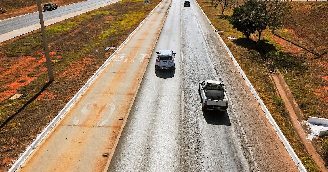 Mais duas cidades do DF vão transformar pistas em ruas de lazer