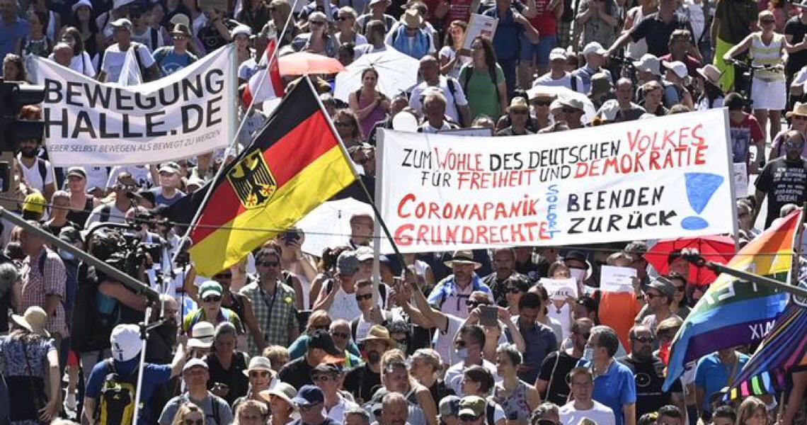 Protestos de negacionistas da pandemia não devem ser proibidos