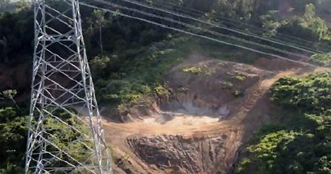 Garimpo ilegal no Pará ameaça linha de transmissão de Belo Monte