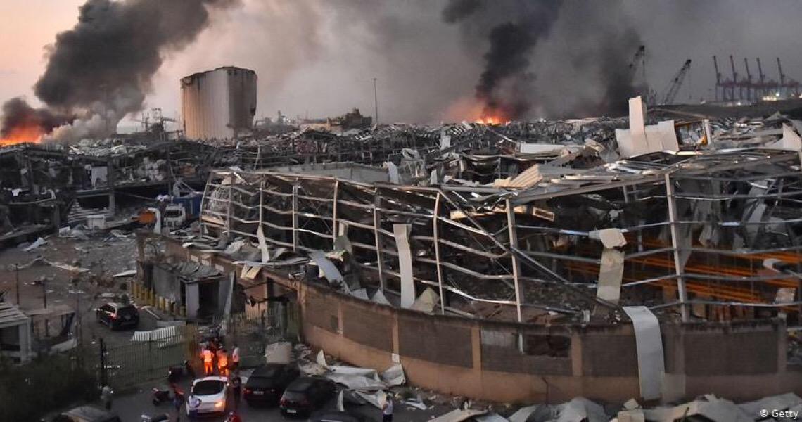 Líderes mundiais oferecem apoio ao Líbano após explosões