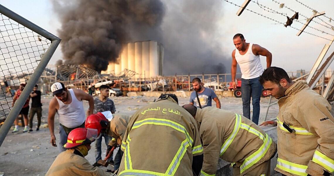 """No Líbano: """"Ainda tem pessoas desaparecidas no mar e em escombros"""", relata brasileiro"""