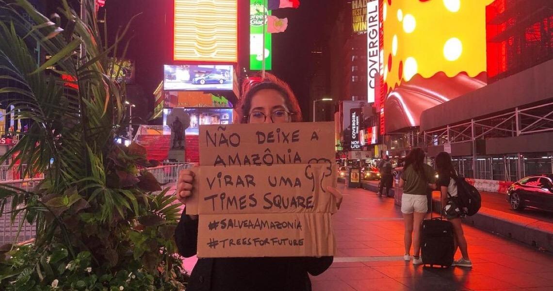 Estudante do DF é única brasileira em Grupo Consultivo da ONU sobre mudança climática