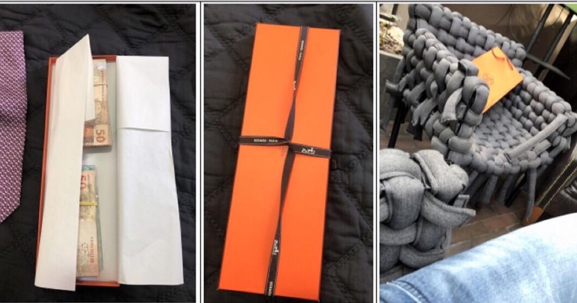 Propina paga a alvo de operação foi escondida em caixa de gravata, segundo MPF