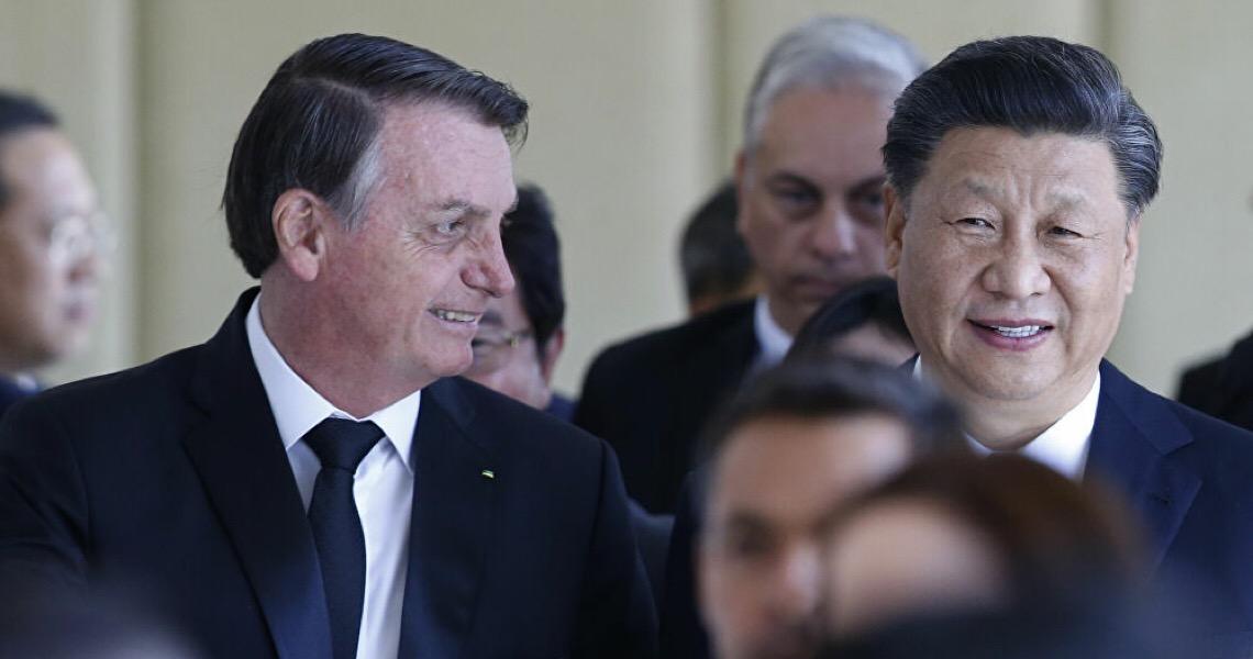 China quer boa relação com Brasil para tirar protagonismo dos EUA na região
