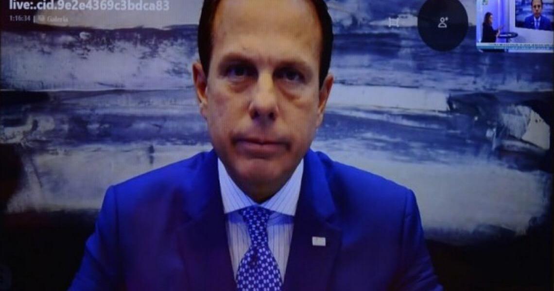 ''Governadores salvaram vidas da covid-19, não Bolsonaro'', diz Doria em entrevista