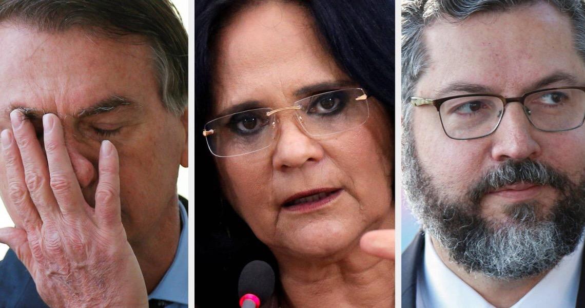 Ministério Público quer cobrar R$ 20 milhões por 16 ofensas de Bolsonaro e ministros contra mulheres
