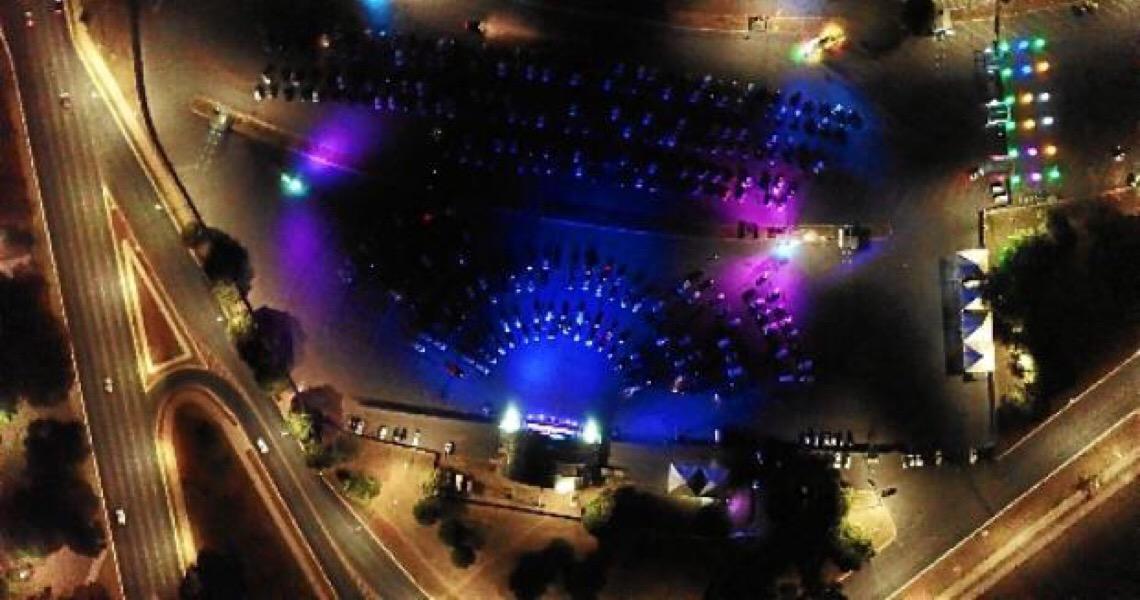 Acendam os faróis: O show vai começar! Projeto Drive Show Brasília começa hoje