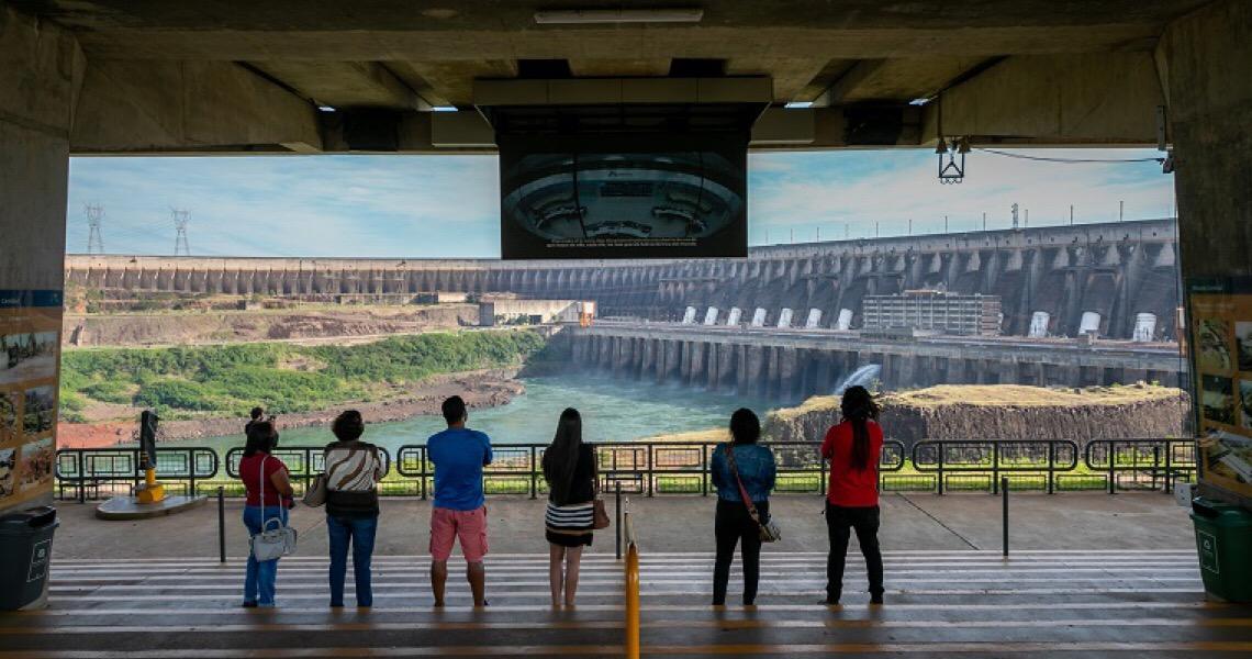 Usina de Itaipu está entre as atrações turísticas mais bem avaliadas do mundo